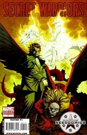 Secret Warriors #1 (1:15 Incentive Cover)