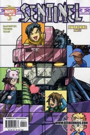 Sentinel Volume 1 #11