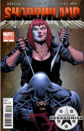 Shadowland #4 (1 in 15 Incentive)