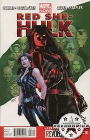 Red She-Hulk #58 (Name Change to She-Hulk)
