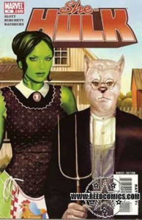 She Hulk Volume 2 #11