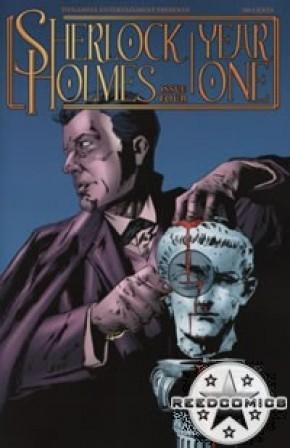 Sherlock Holmes Year One #4 (Cover B)