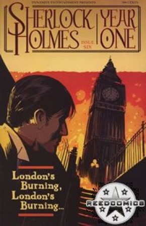 Sherlock Holmes Year One #6 (Cover A)