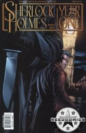 Sherlock Holmes Year One #6 (Cover B)