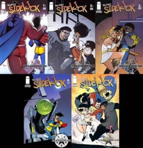 Paul Jenkins Sidekick #1,#2,#3,#4,#5 Set
