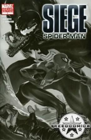 Siege Spiderman (Retailer Sketch Variant)