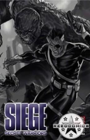 Siege Secret Warriors (Retailer Sketch Variant)