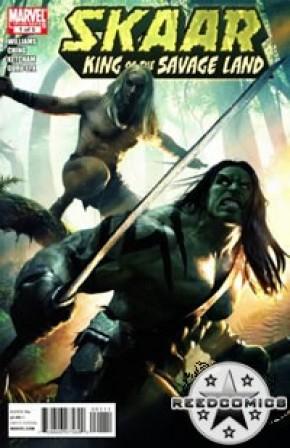 Skaar King of the Savage Land #1