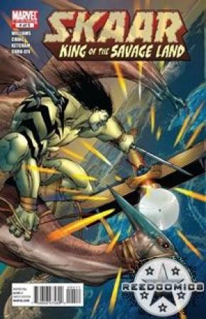 Skaar King of the Savage Land #4