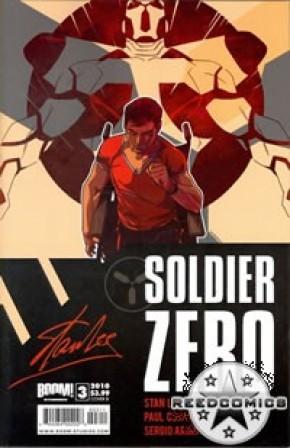 Stan Lees Soldier Zero #3 (Cover B)