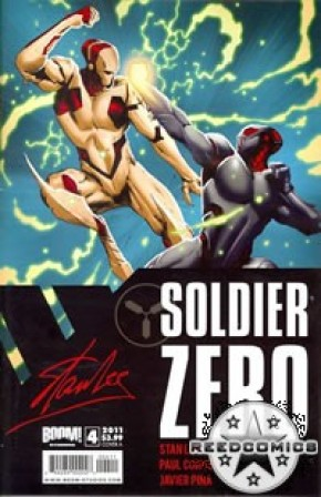 Stan Lees Soldier Zero #4 (Cover A)