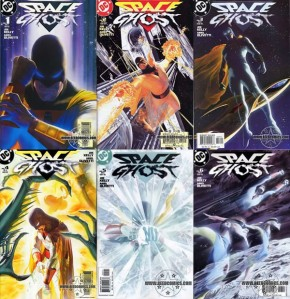 Space Ghost #1,#2,#3,#4,#5,#6 Set