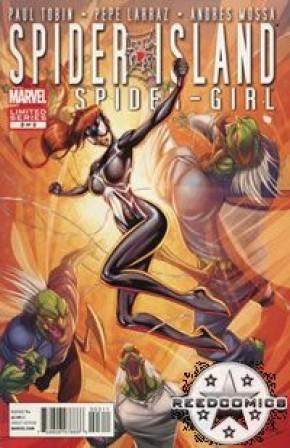 Spider Island The Amazing Spidergirl #3