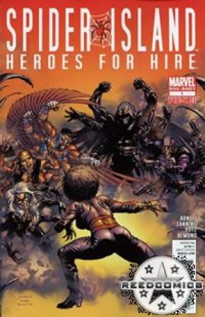 Spider Island Heroes For Hire