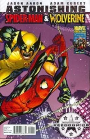 Astonishing Spiderman Wolverine #1