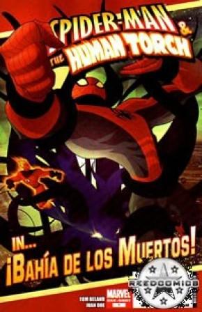 Spider-Man & Human Torch In !Bahia De Los Muertos!