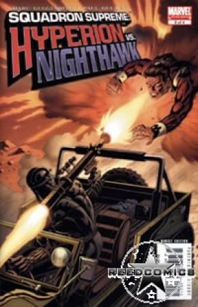 Squadron Supreme Hyperion vs Nighthawk #2