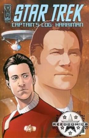 Star Trek Captains Log Harriman