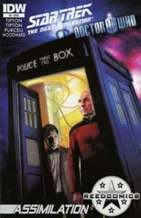 Star Trek Doctor Who Assimilation #5