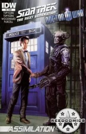 Star Trek Doctor Who Assimilation #6