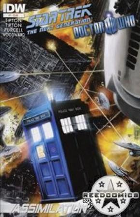 Star Trek Doctor Who Assimilation #7