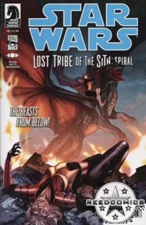 Star Wars Lost Tribe of the Sith Spiral #4