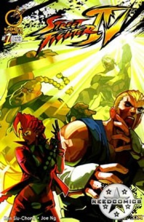 Street Fighter IV #1 (Cover A)