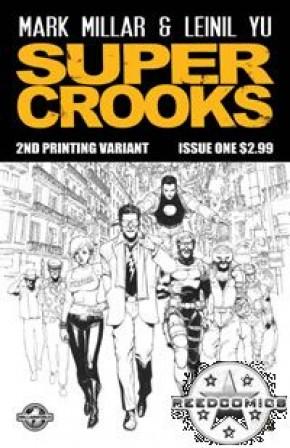 Supercrooks #1 (2nd Print)
