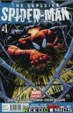 Superior Spiderman #1 (2nd Print)