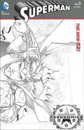 Superman Volume 4 #0 (1 in 25 Incentive)