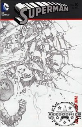 Superman Volume 4 #10 (1 in 25 Incentive)