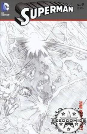Superman Volume 4 #9 (1 in 25 Incentive)