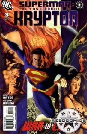 Superman The Last Family of Krypton #3