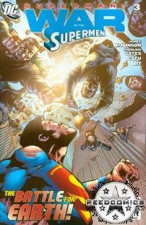 Superman War of the Supermen #3