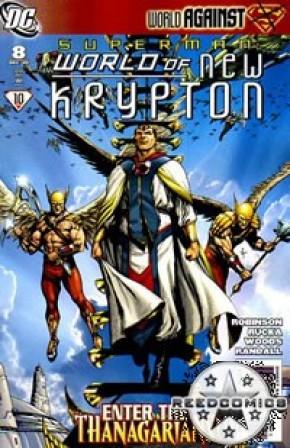 Superman World Of New Krypton #8