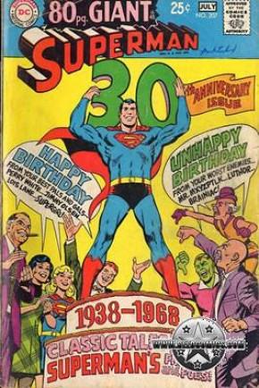 Superman: 1st Series #207 VG