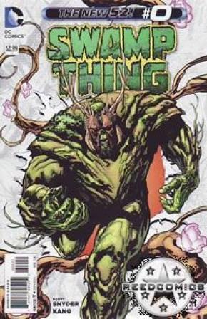 Swamp Thing Volume 5 #0