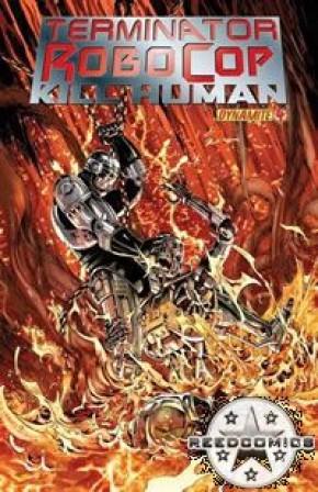 Terminator Robocop Kill Human #4 (Cover A)