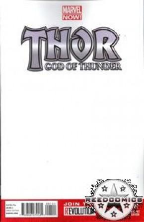 Thor God of Thunder #1 (Blank Variant)