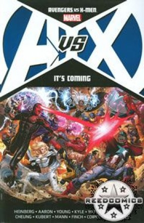 Avengers vs X-Men Its Coming Graphic Novel