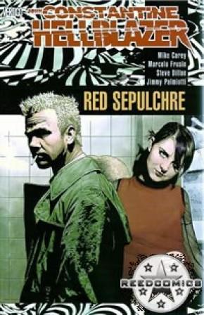 Hellblazer Red Sepulchre Graphic Novel