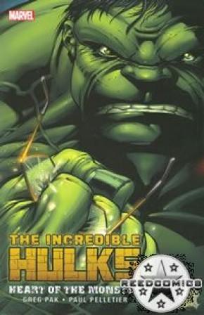 Incredible Hulks Heart of the Monster Graphic Novel