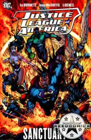 Justice League Of America Volume 4 Sanctuary Graphic Novel