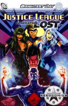 Justice League Generation Lost Volume 1 Hardcover
