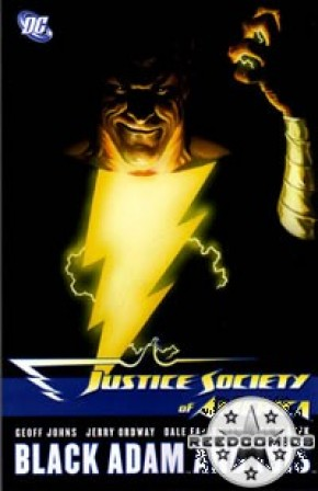Justice Society of America Volume 5 Black Adam and Isis Graphic Novel