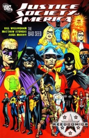 Justice Society of America Volume 6 Bad Seed Graphic Novel