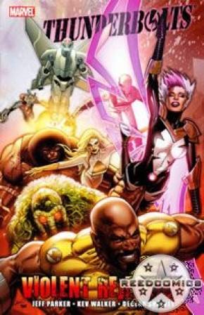 Thunderbolts Violent Rejection Graphic Novel
