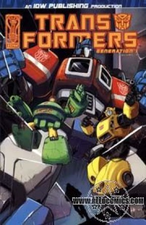 Transformers Generation 1 Volume 1 Graphic Novel (New Prinitng)