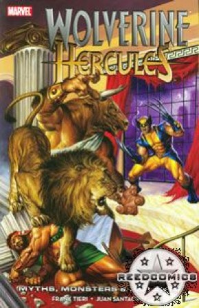 Wolverine Hercules Myths Monsters and Mutants Graphic Novel