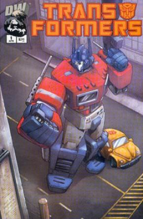 Transformers G1 Volume 1 #1 (2nd Print Variant)